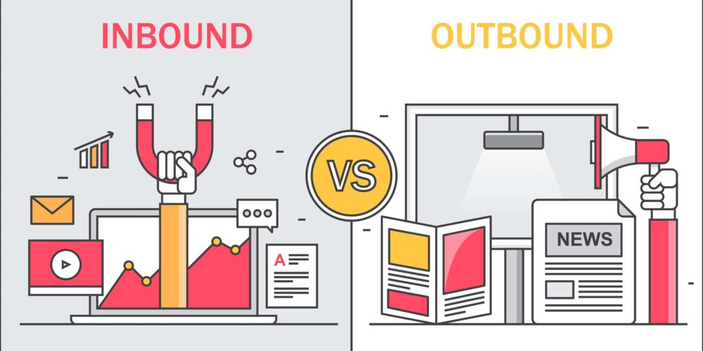 Diferențele dintre inbound și outbound marketing