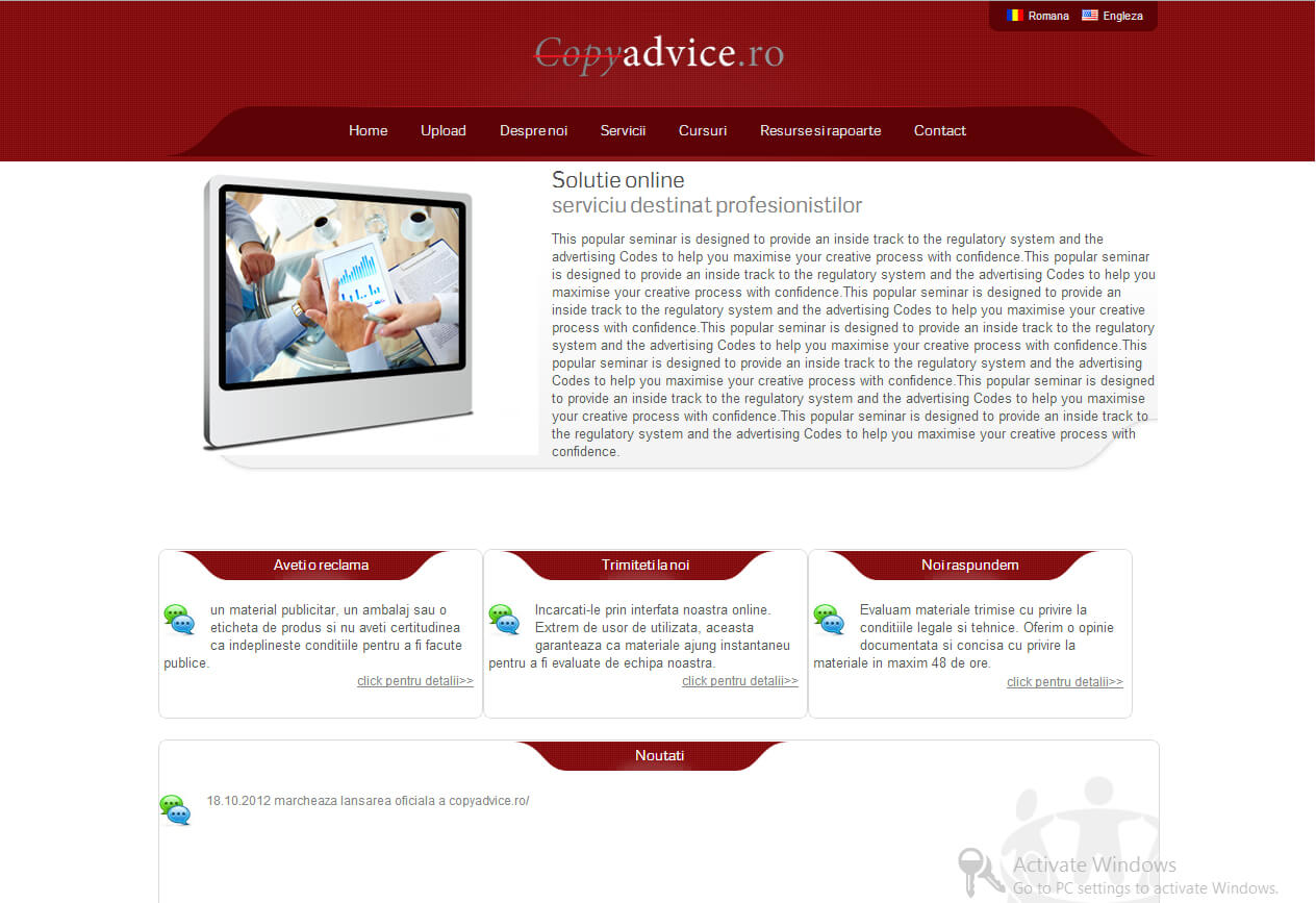 Web Design Timisoara Copy Advice