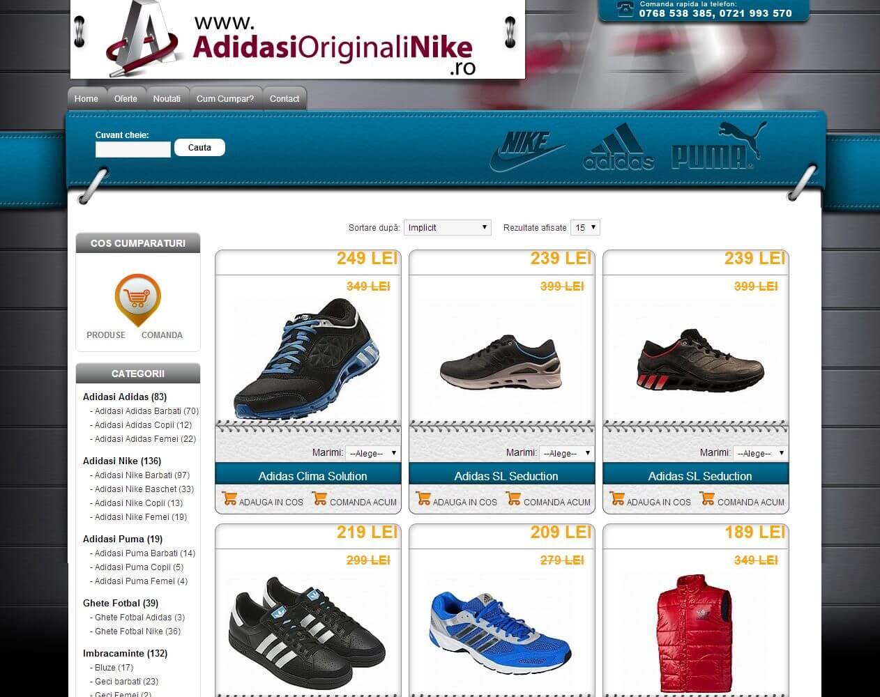 optimizare seo agentie web design timisoara adidasi originali nike