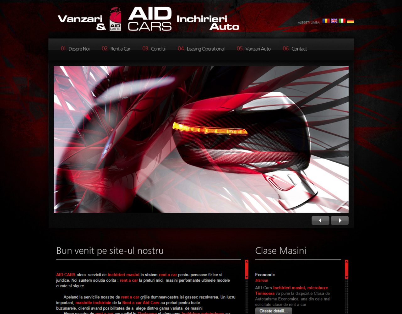 optimizare seo agentie web design timisoara aid cars