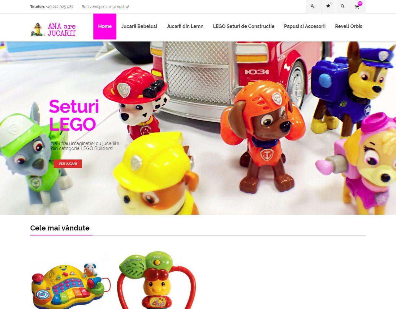optimizare seo agentie web design timisoara ana are jucarii