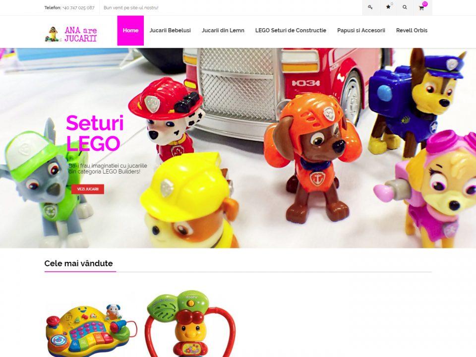 Optimizare SEO | Agentie Web Design Timisoara Ana Are Jucarii
