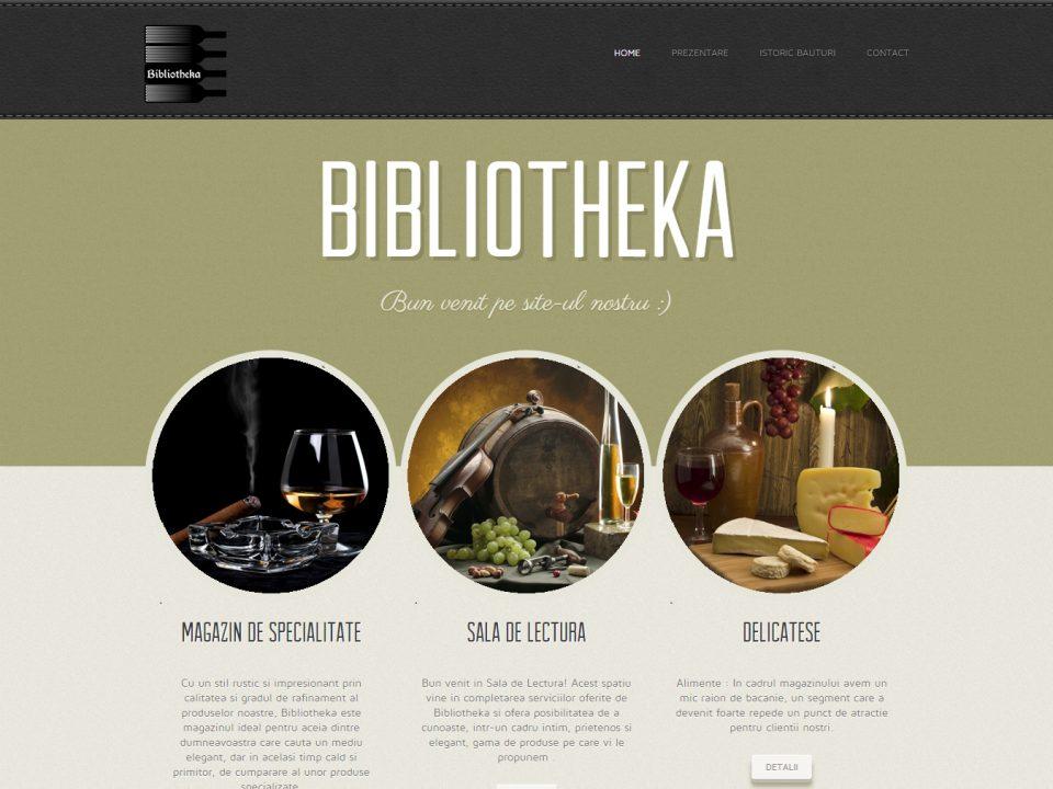 Optimizare SEO | Agentie Web Design Timisoara Bibliotheka
