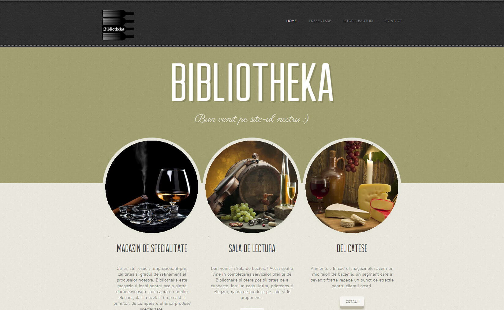 Web Design Timisoara Bibliotheka