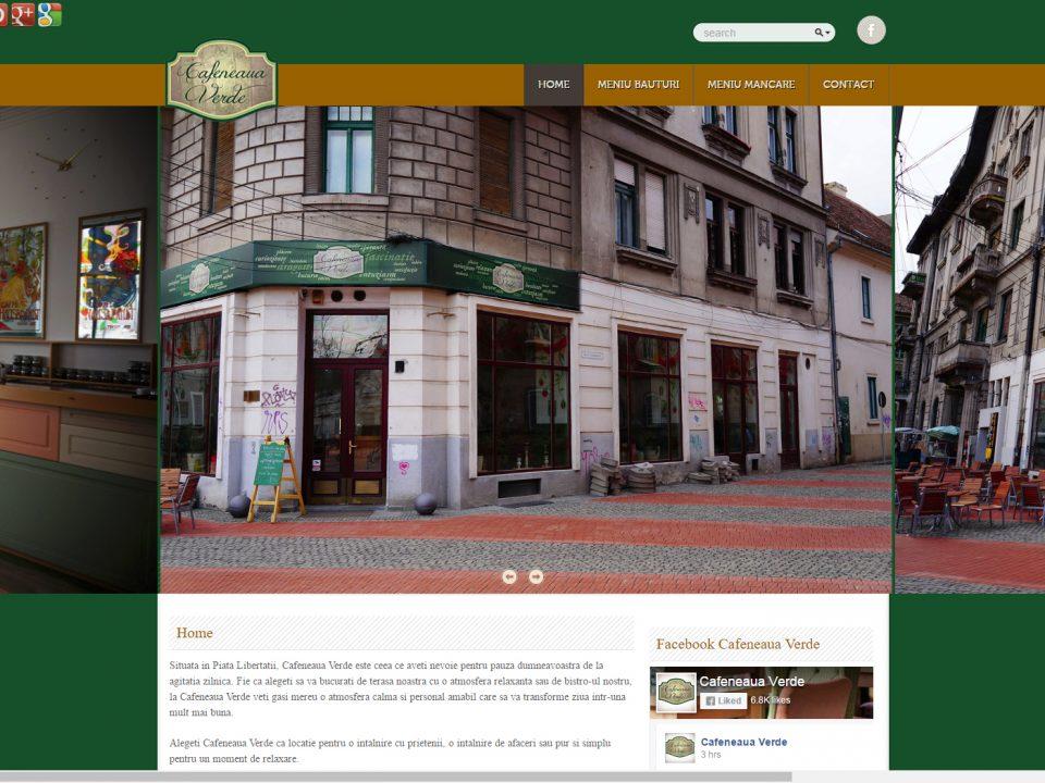 Optimizare SEO | Agentie Web Design Timisoara Cafeneaua Verde