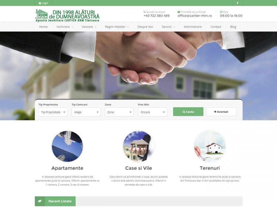 Optimizare SEO | Agentie Web Design Timisoara Cartier RHM