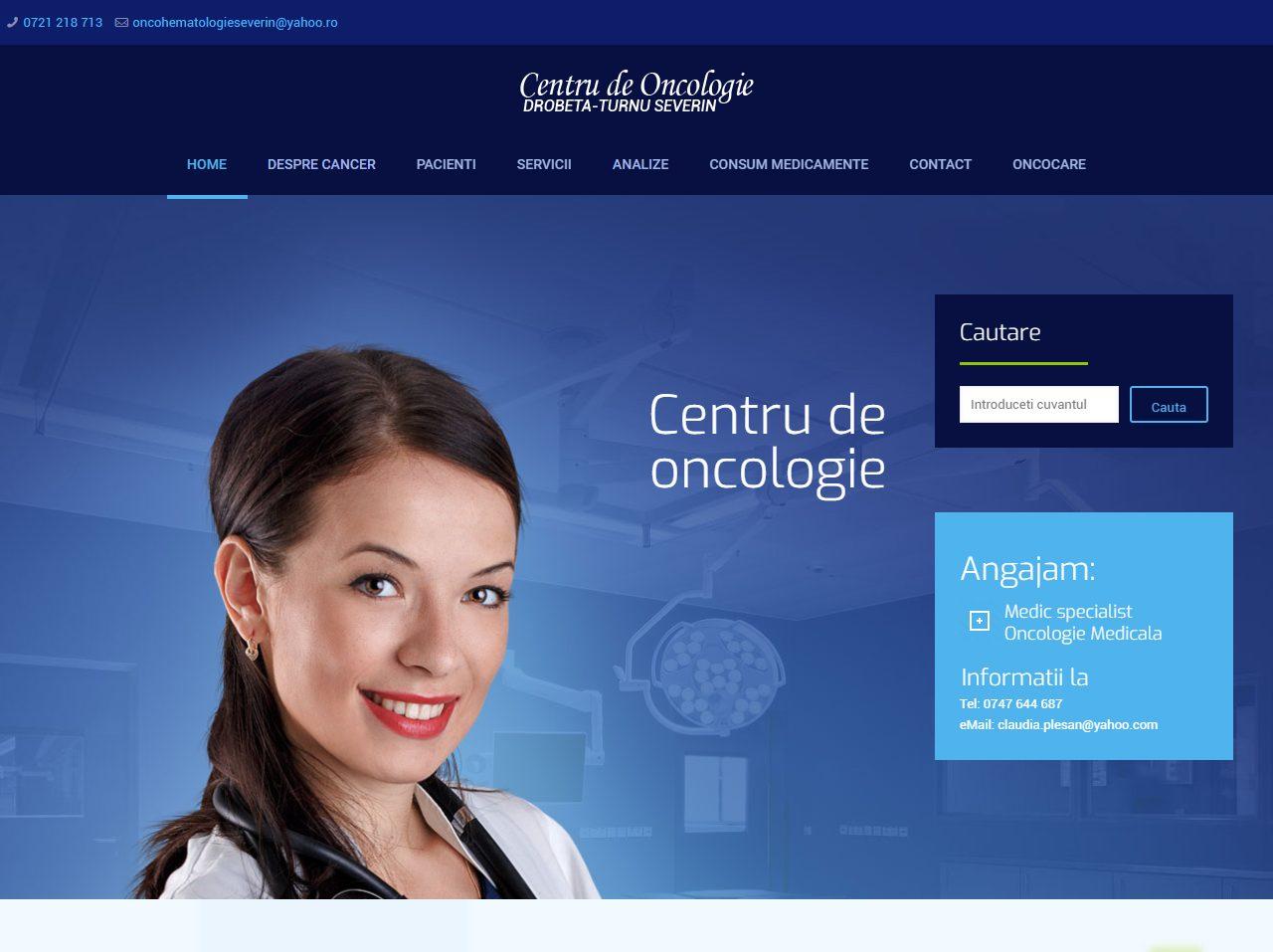 optimizare seo agentie web design timisoara centru oncologie severin