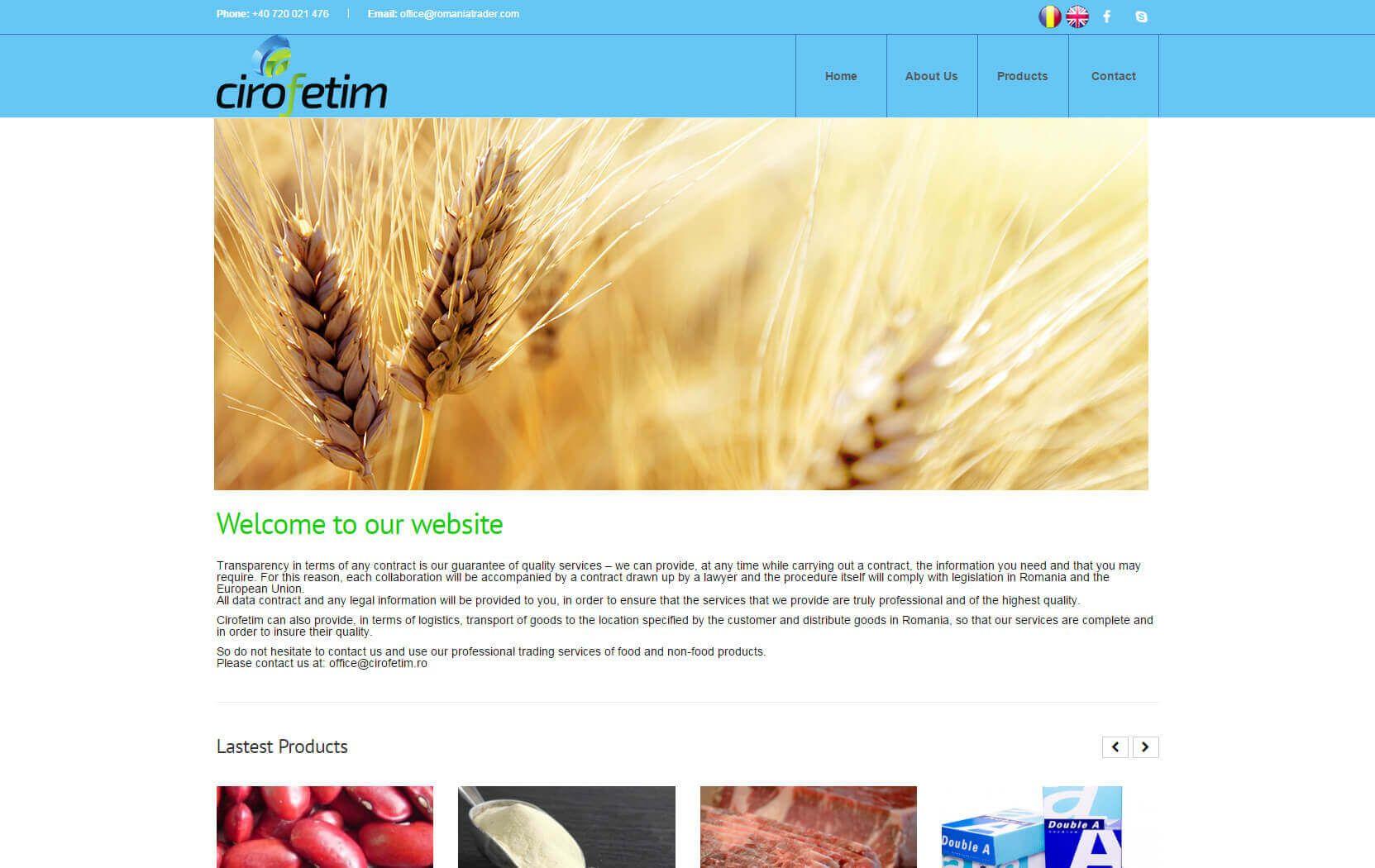 Web Design Timisoara Cirofetim