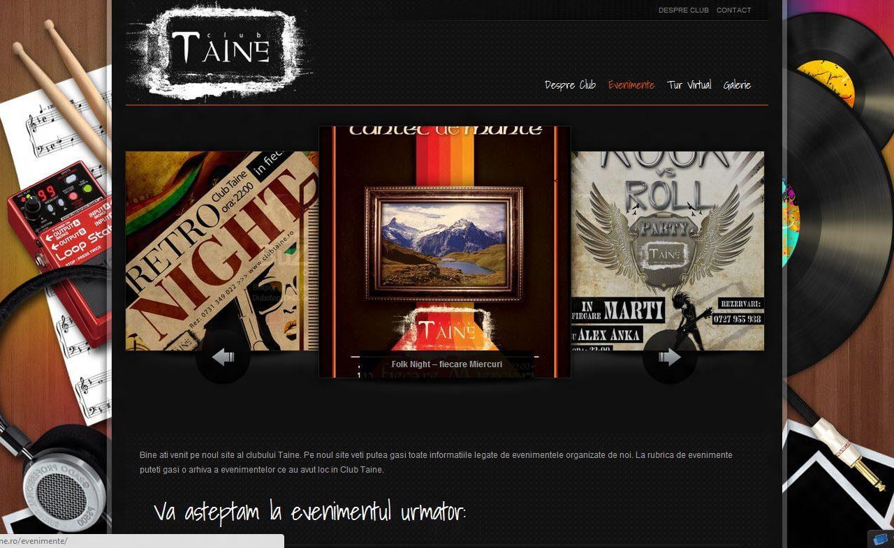 optimizare seo agentie web design timisoara club taine
