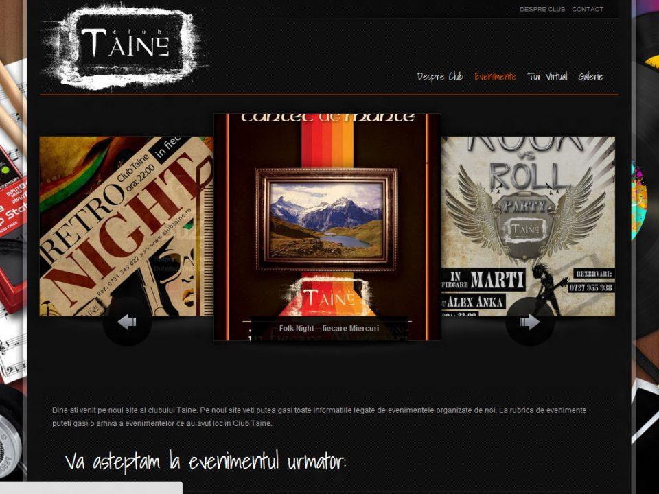 Optimizare SEO | Agentie Web Design Timisoara Club Taine
