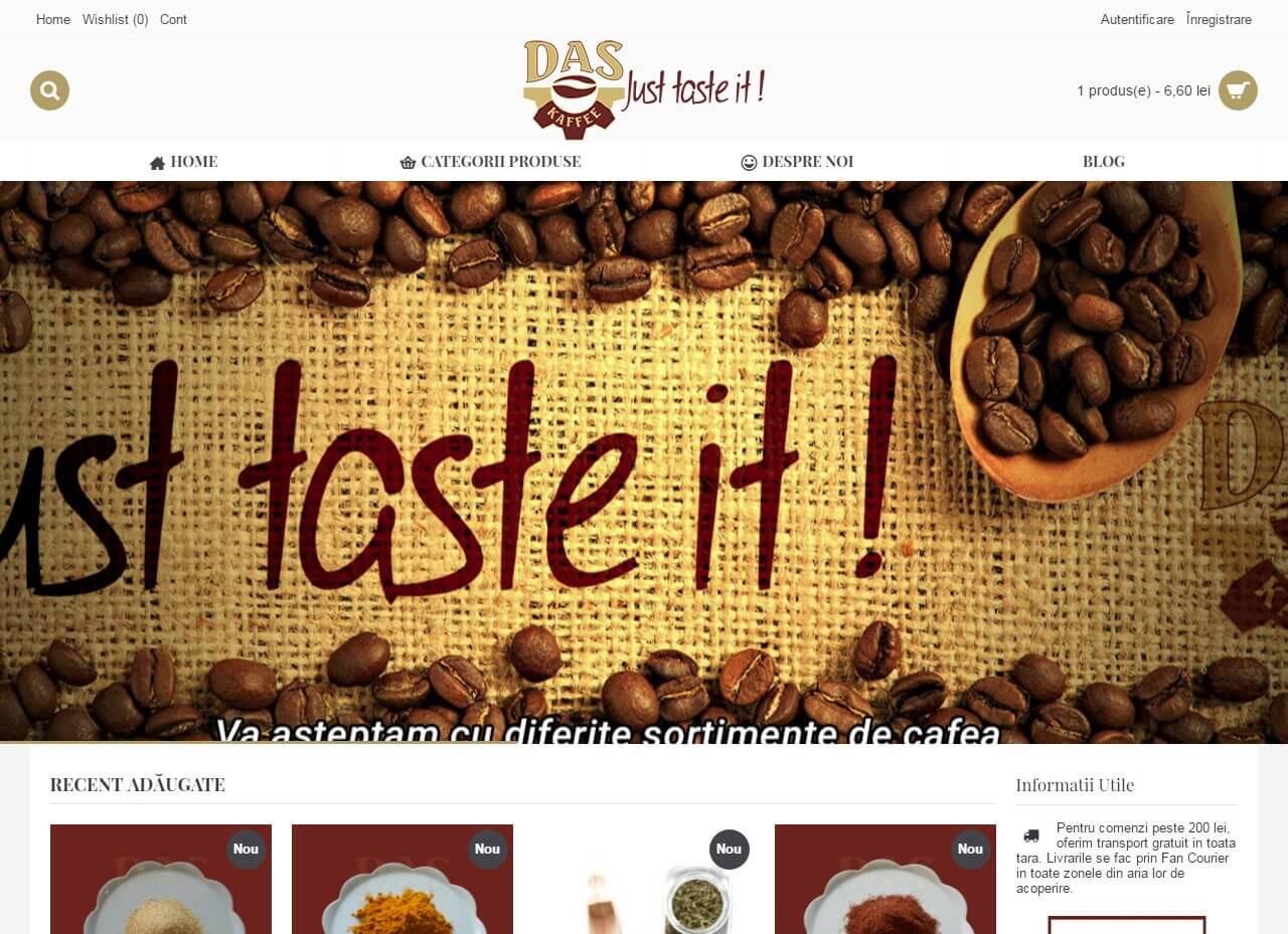 optimizare seo agentie web design timisoara das kaffee