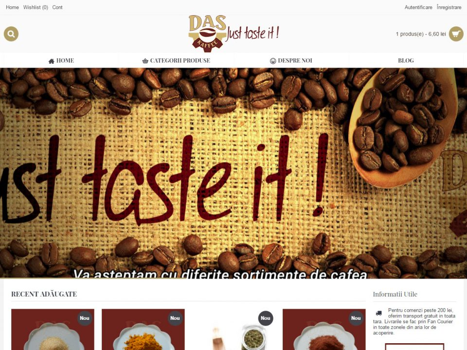 Optimizare SEO | Agentie Web Design Timisoara Das Kaffee