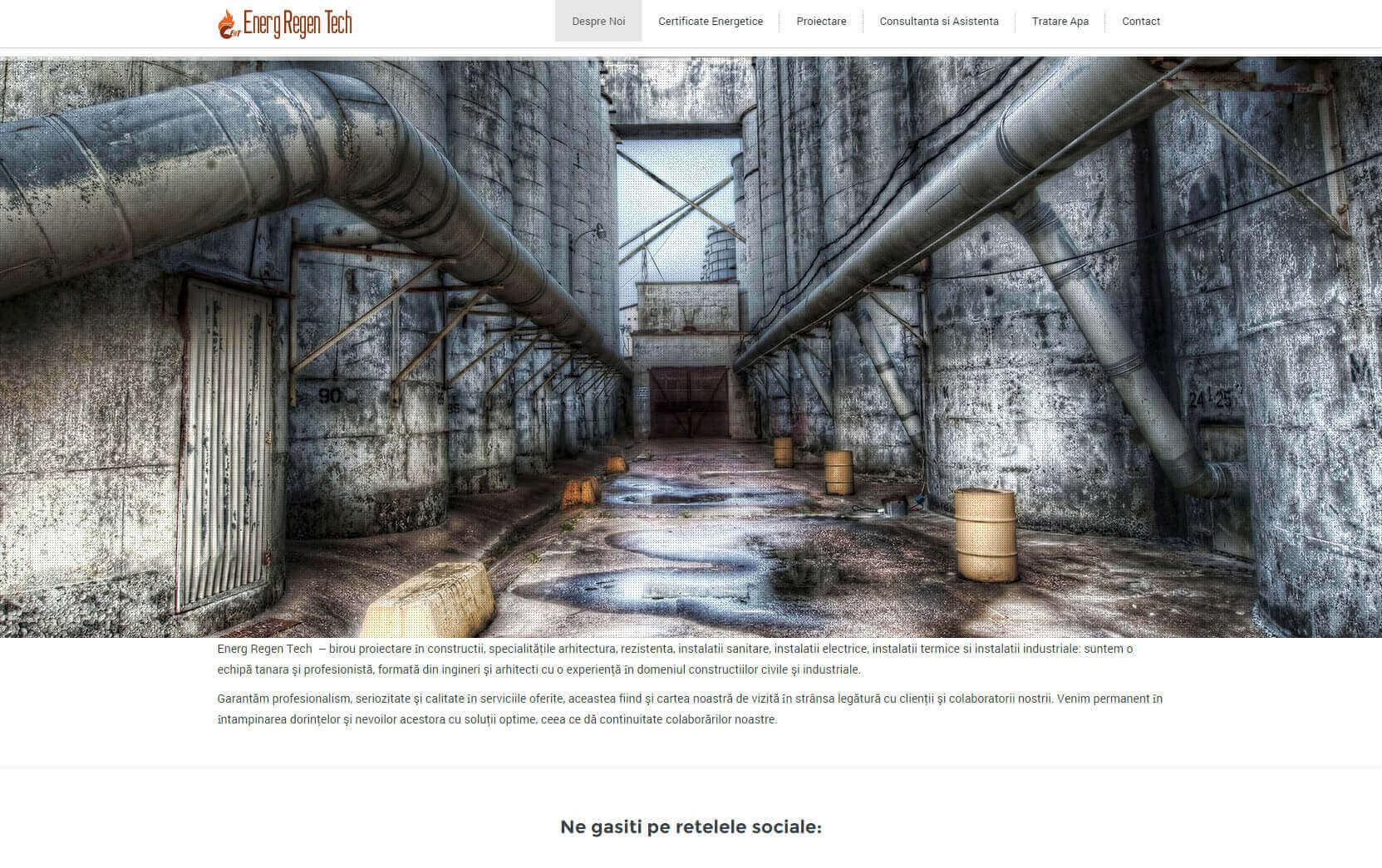 Web Design Timisoara Energ Regen Group