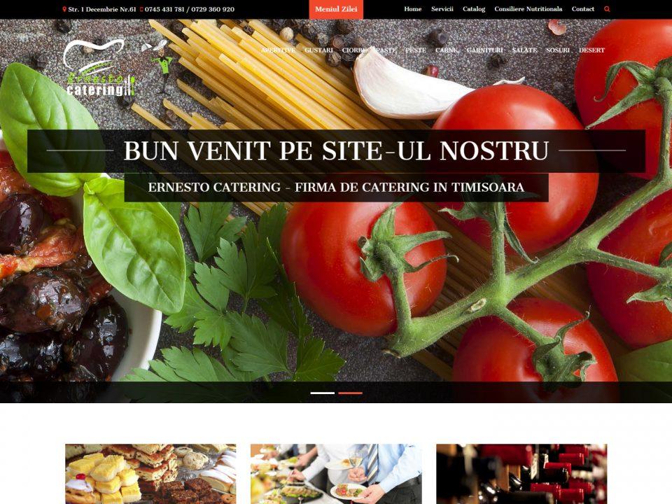 Optimizare SEO | Agentie Web Design Timisoara Ernesto Catering