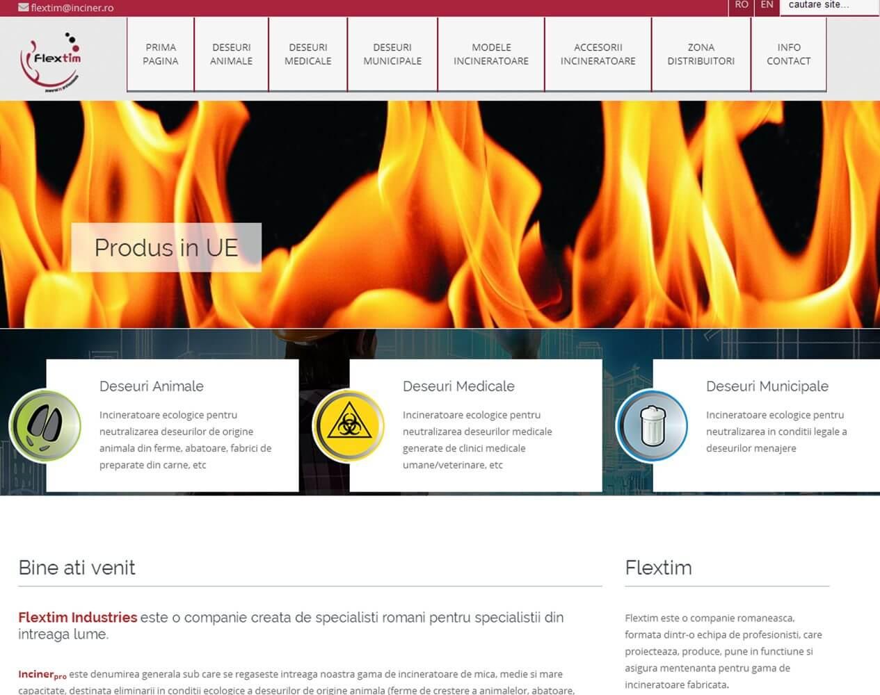 optimizare seo agentie web design timisoara flextim