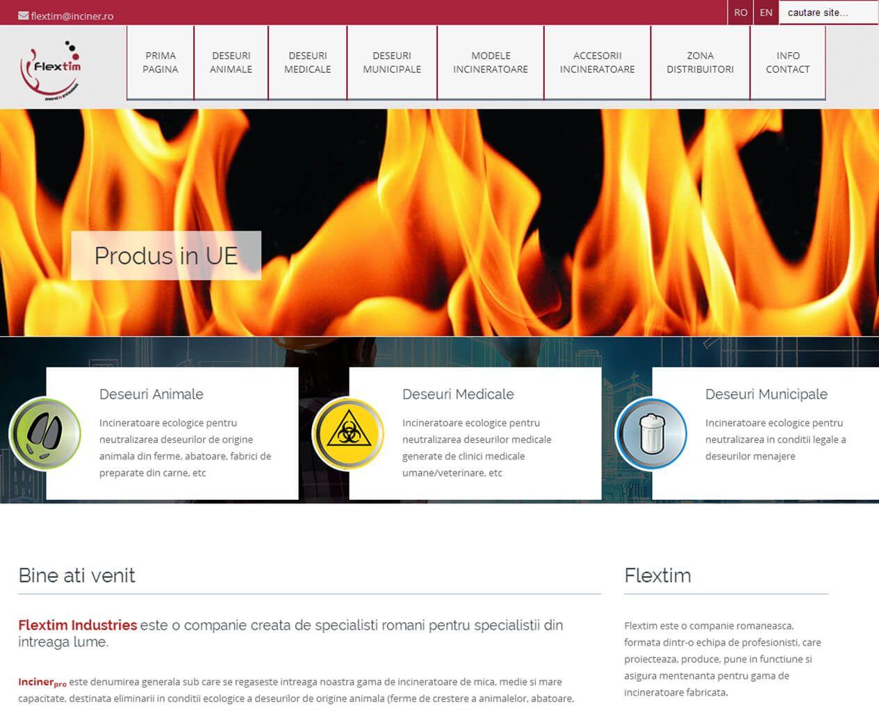 Web Design Timisoara FlexTim