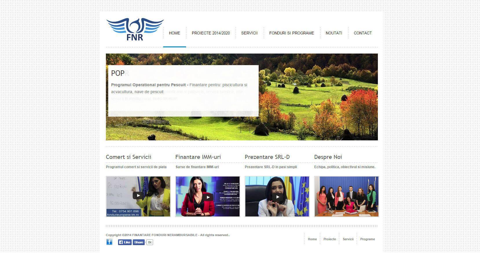 Web Design Fonduri Europene Timisoara