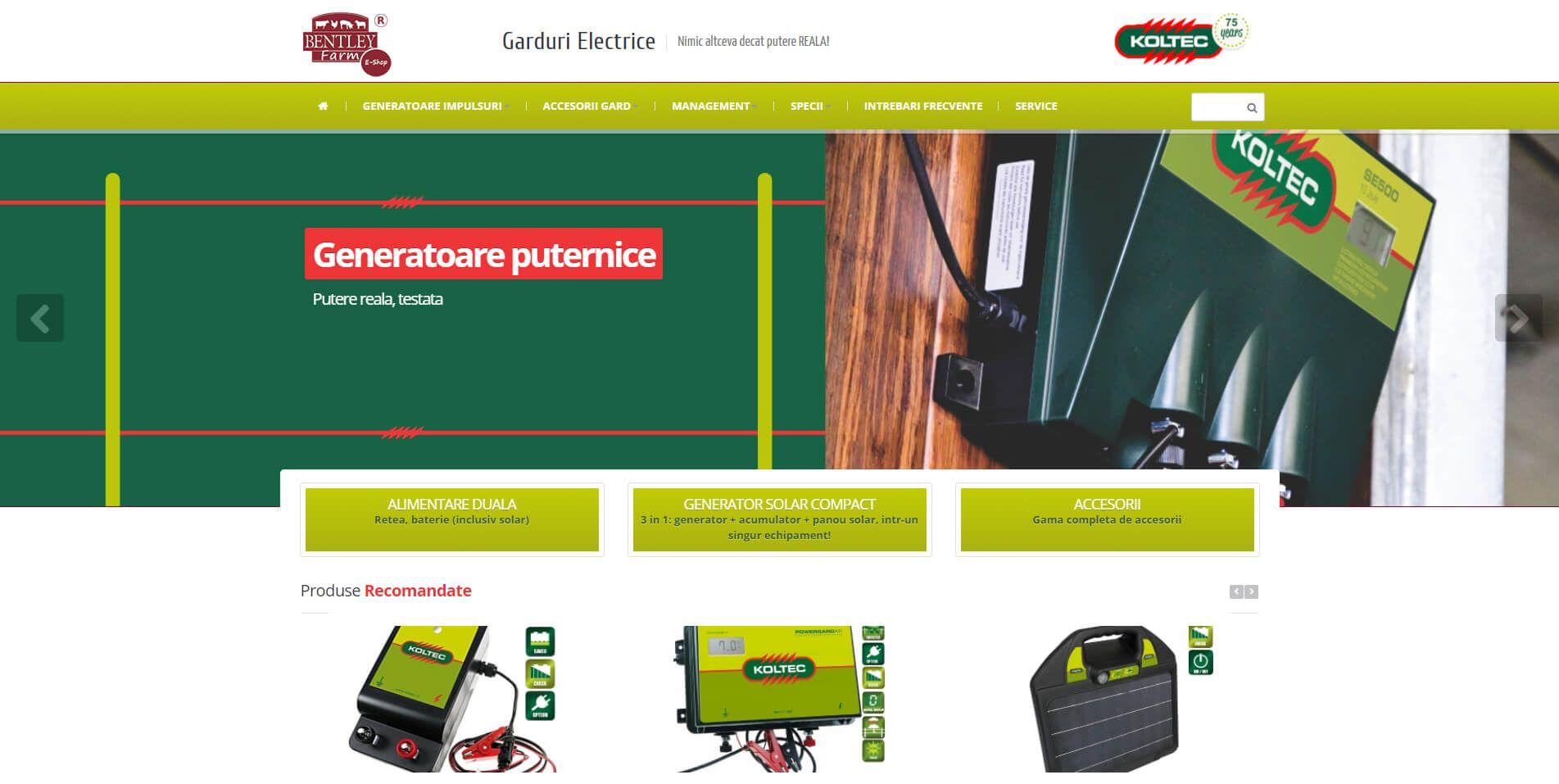 Web Design Timisoara Garduri Electrice