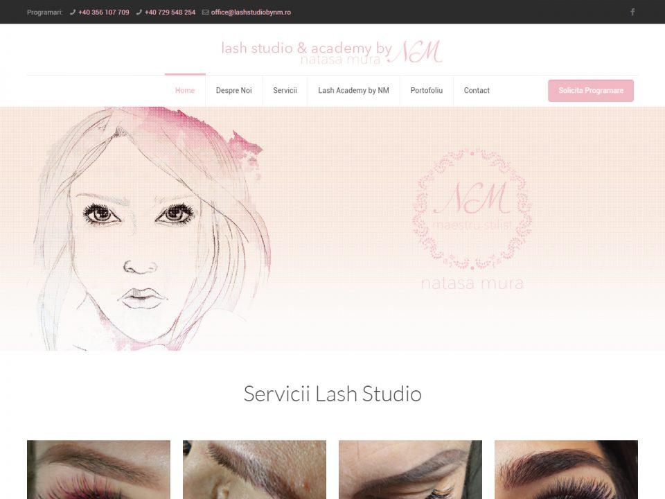 Optimizare SEO | Agentie Web Design Timisoara LashStudioByNm
