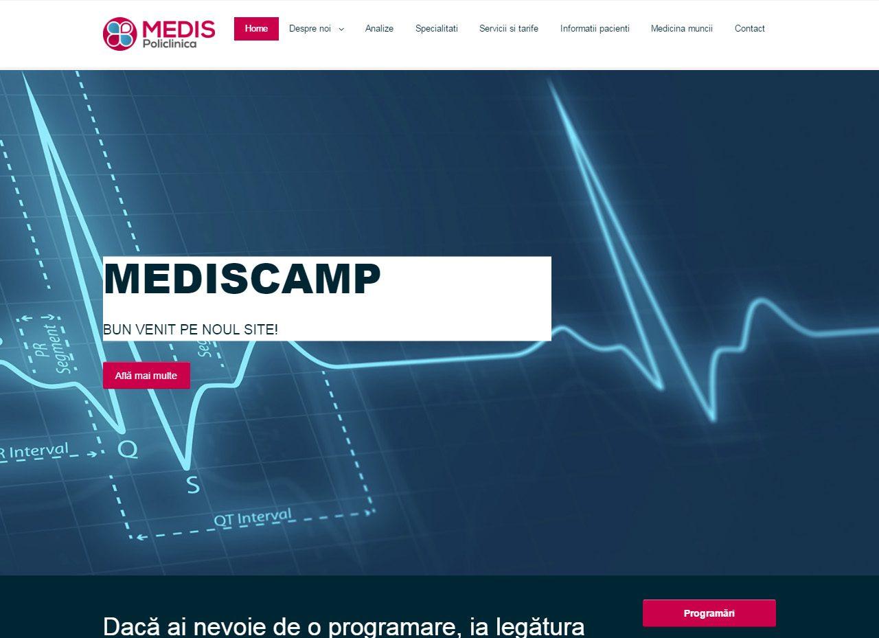 optimizare seo agentie web design timisoara mediscamp
