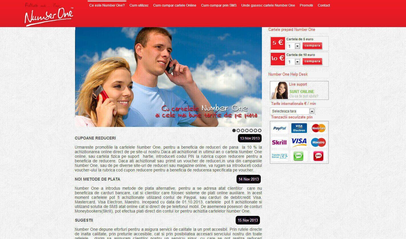 Web Design Timisoara Number One