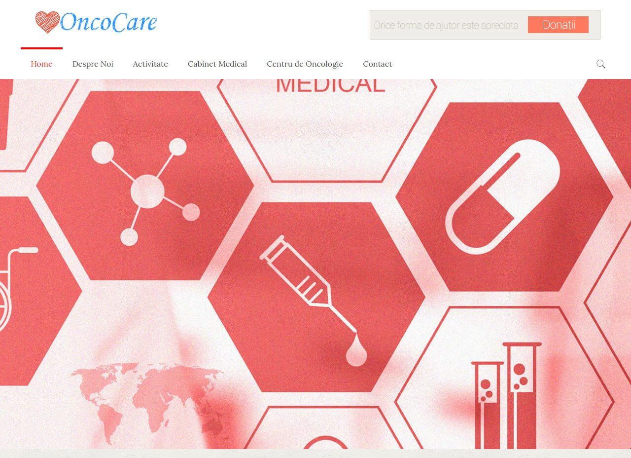 Web Design Timisoara OncoCare