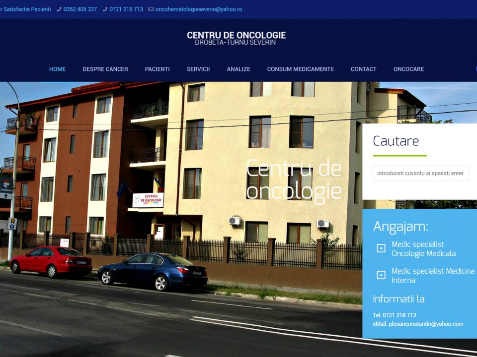 Optimizare SEO | Agentie Web Design Timisoara Oncologie