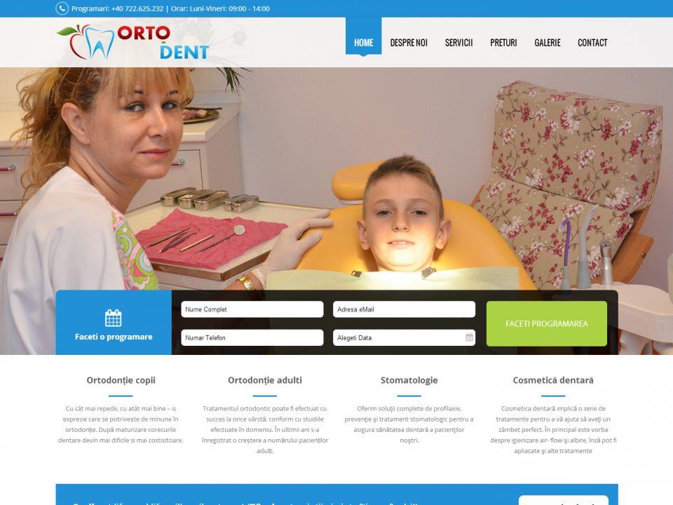Optimizare SEO | Agentie Web Design Timisoara OrtoDent