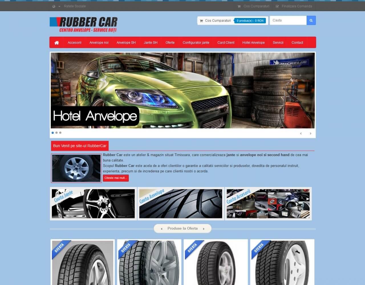 optimizare seo agentie web design timisoara rubbercar
