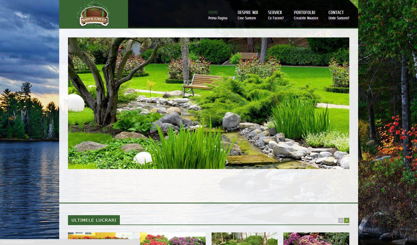 Web Design Timisoara Sam's Green