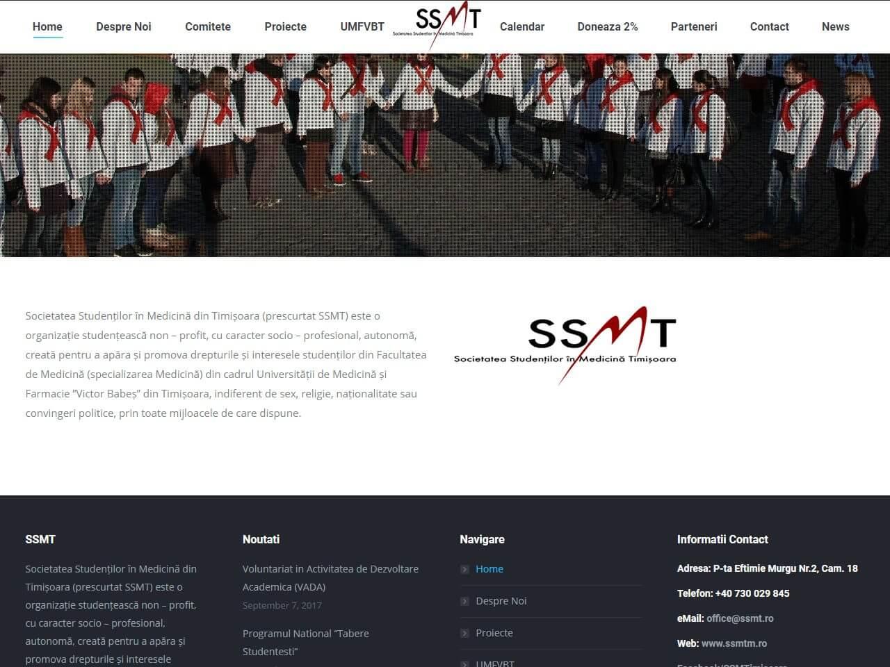 optimizare seo agentie web design timisoara ssmt