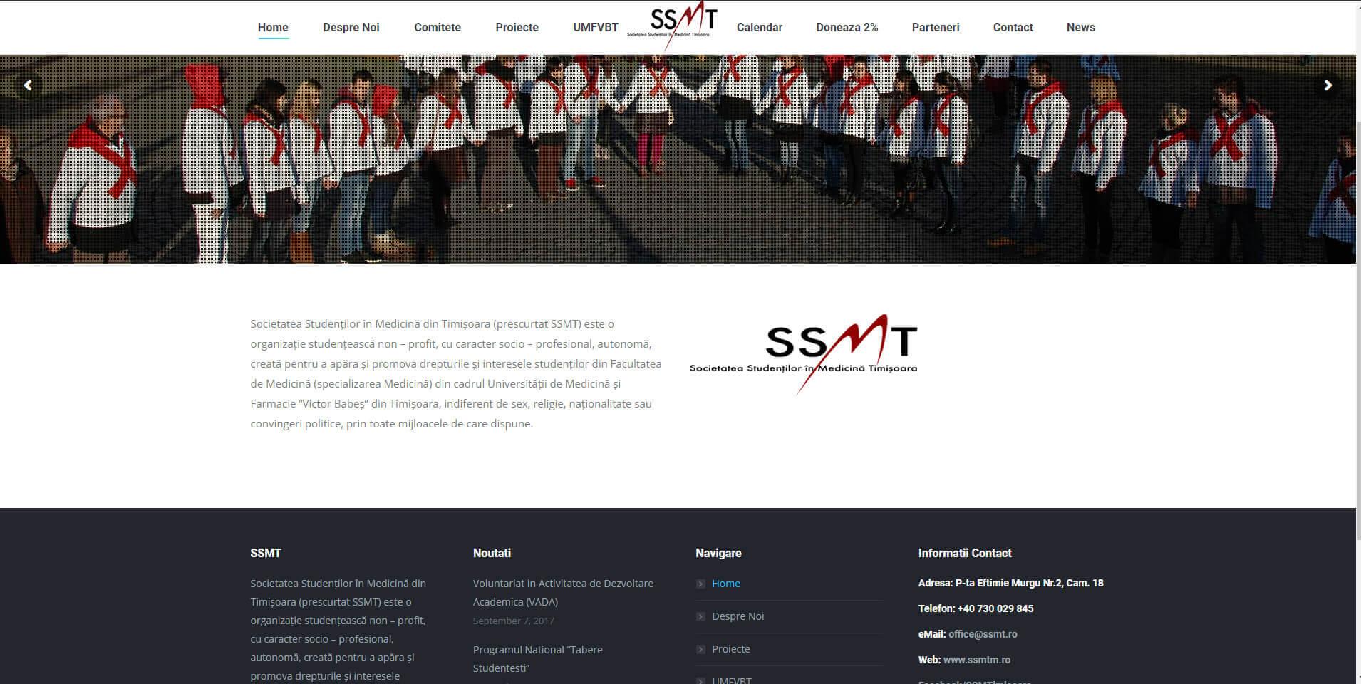 Web Design Timisoara SSMT