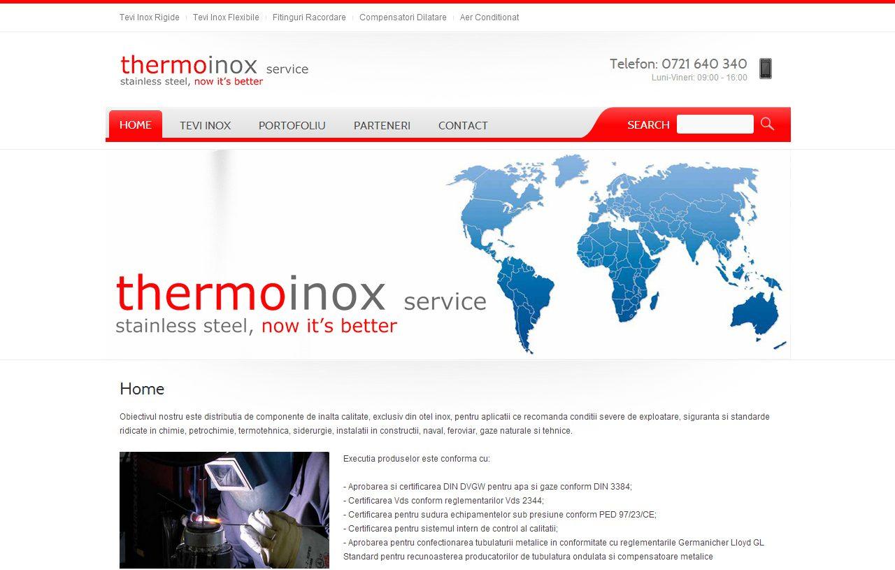 optimizare seo agentie web design timisoara thermoinox