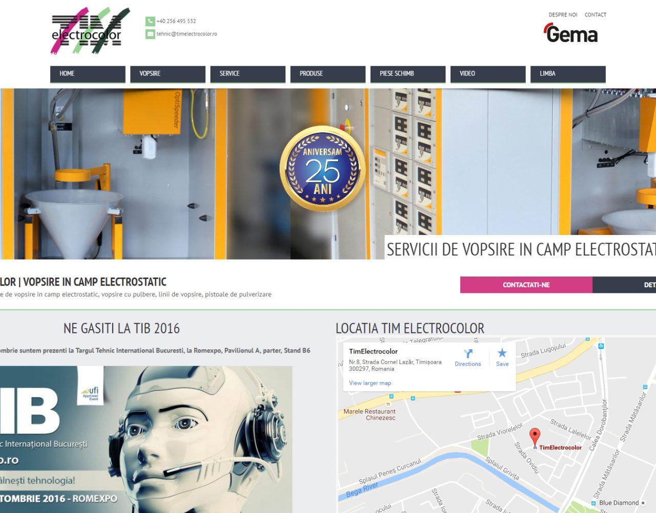 optimizare seo agentie web design timisoara tim electrocolor