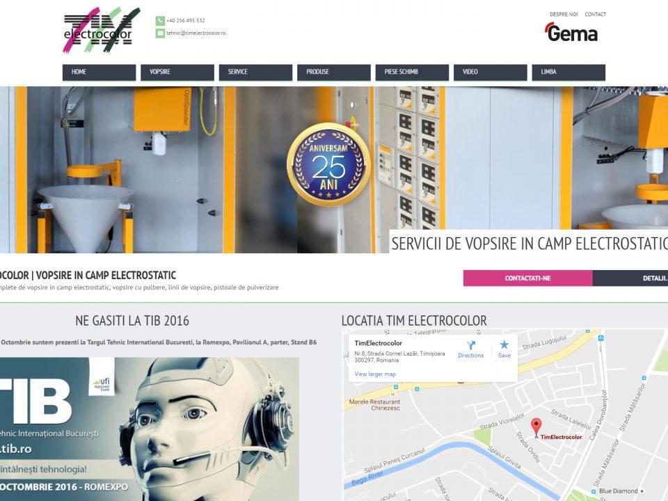 Optimizare SEO | Agentie Web Design Timisoara Tim-Electrocolor