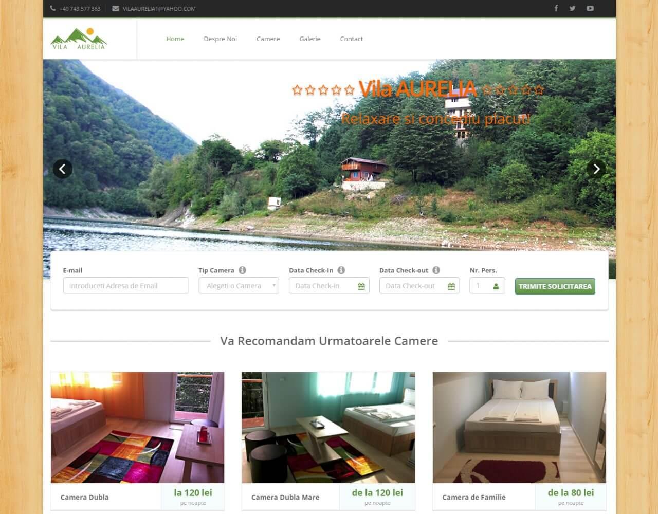 optimizare seo agentie web design timisoara vila aurelia