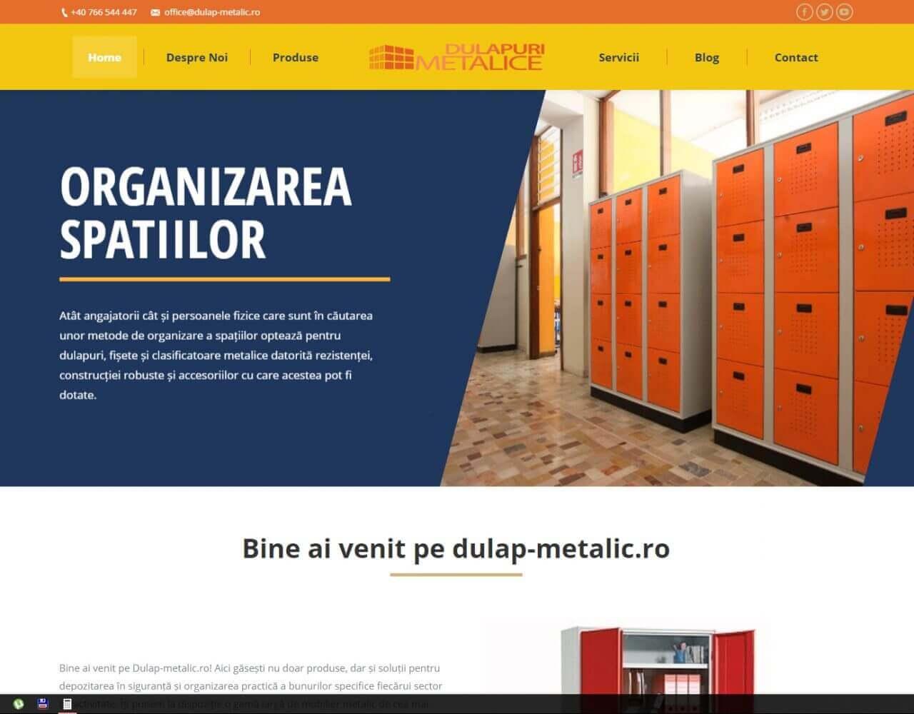 agentie web design timisoara dulap metalic