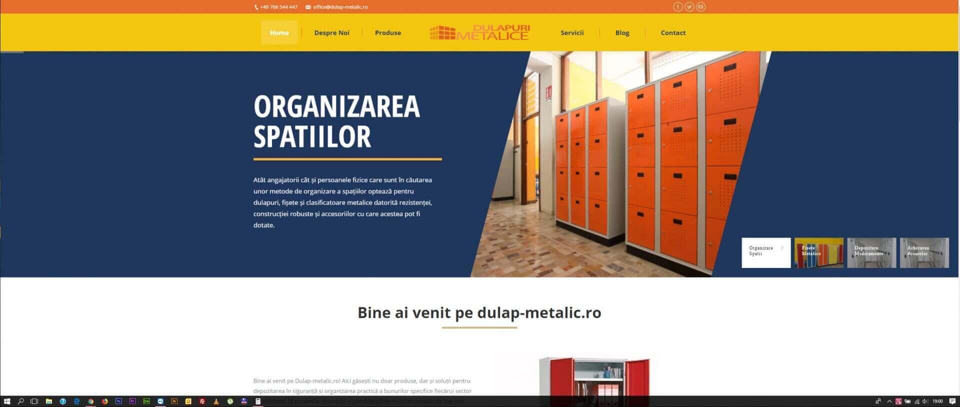 Web Design Timisoara Dulap Metalic