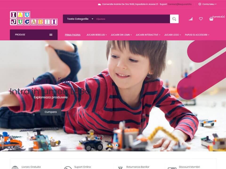 Agentie Web Design Timisoara - IauJucarii