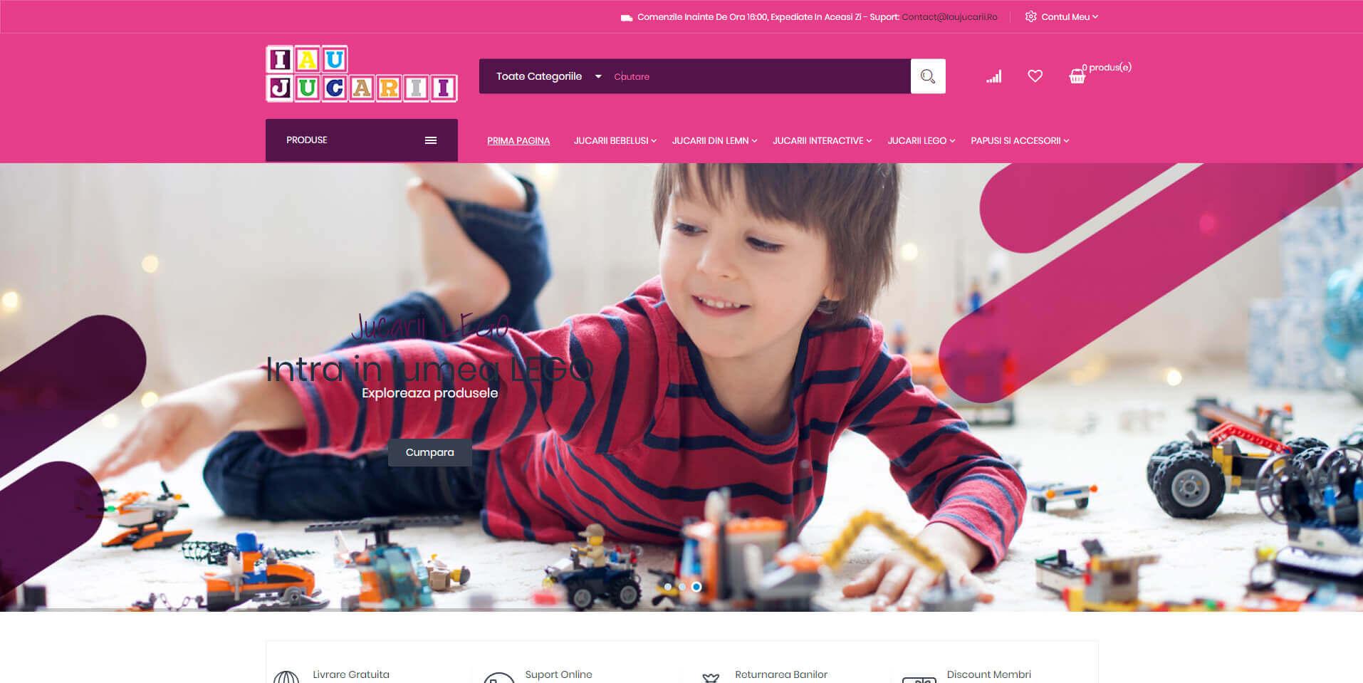 Web Design Timisoara IauJucarii