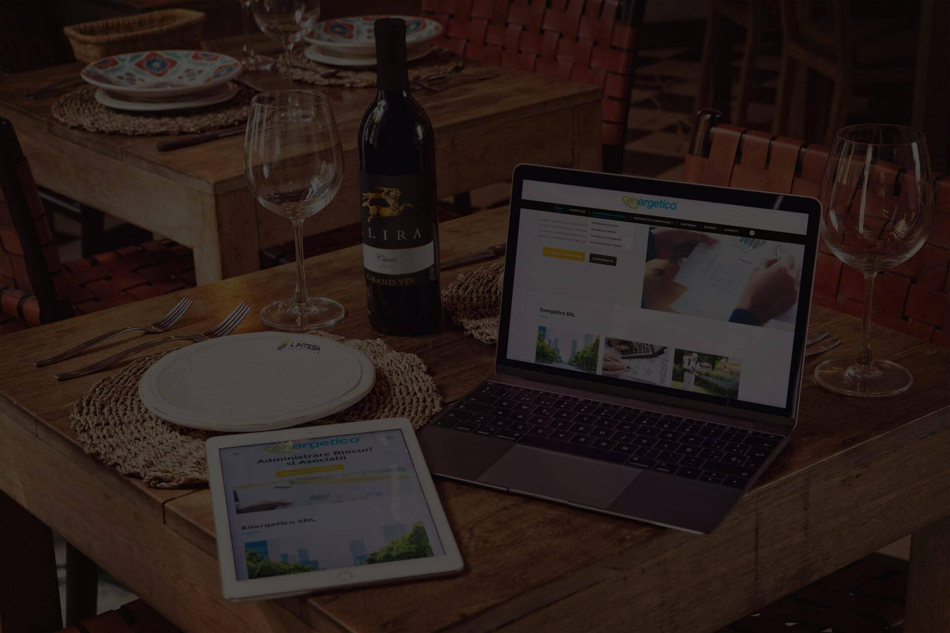 Slider Home Web Design Timisoara Dark Energetico