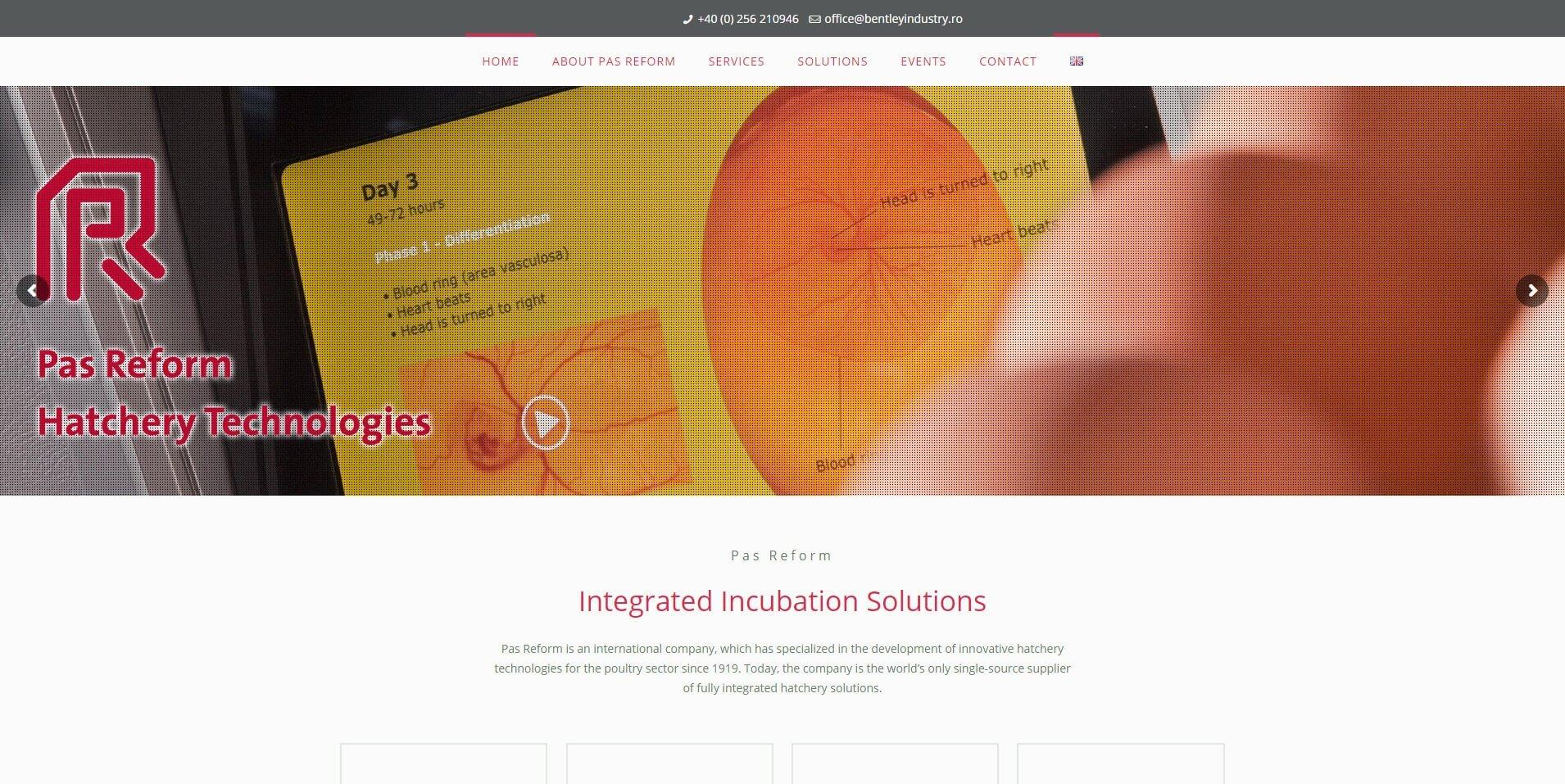 Portofoliu Web Design Timisoara - Pas Reform