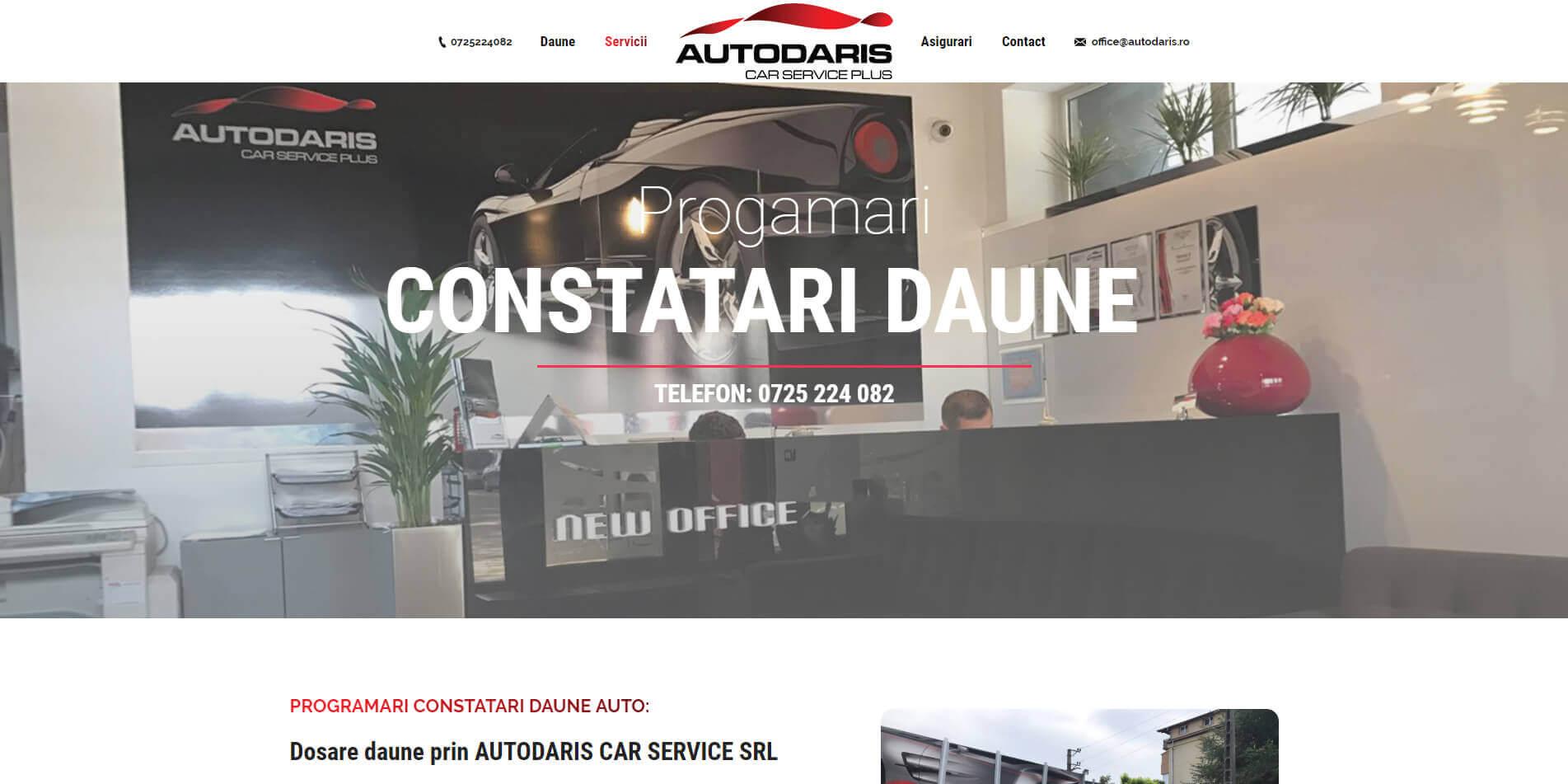 Web Design Timisoara Daune AutoDaris
