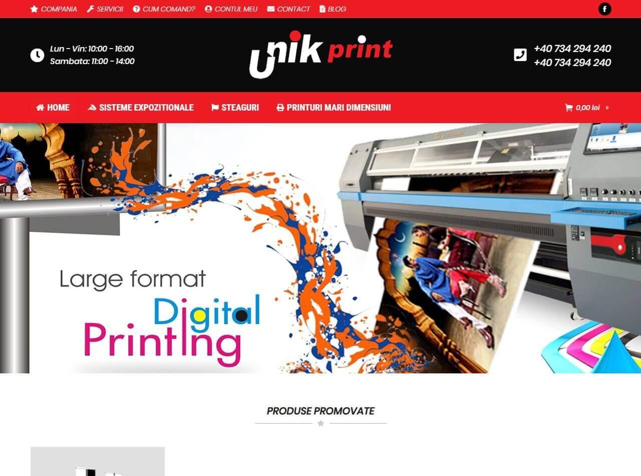 web design timisoara unikprint