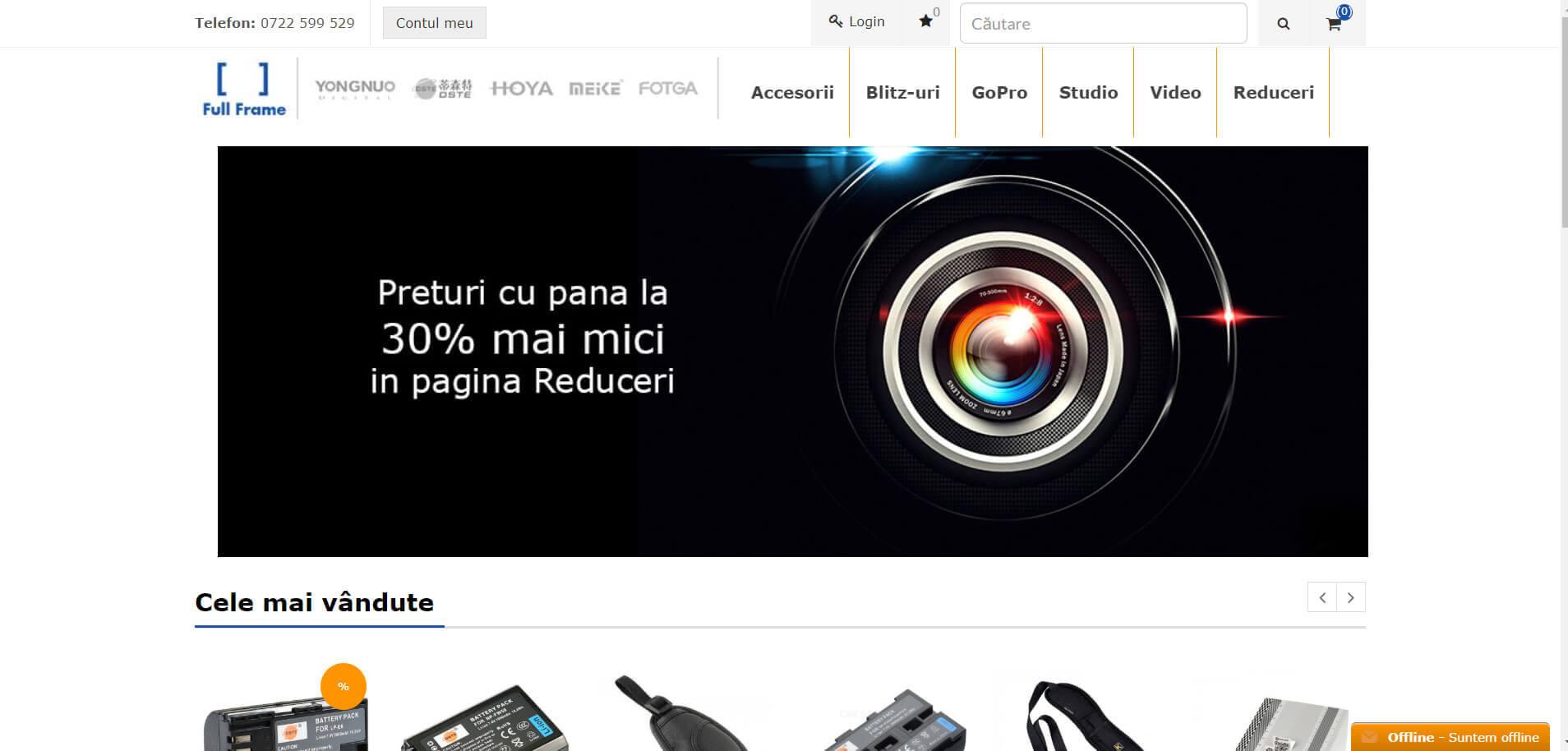 Web Design Timisoara - Full Frame