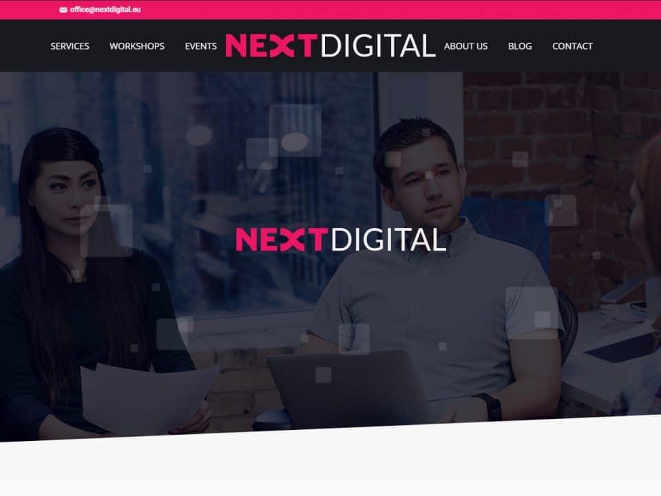 portofoliu web design nextdigital
