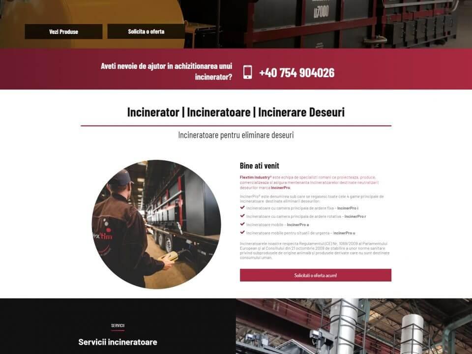 portofoliu agentie seo web design timisoara inciner